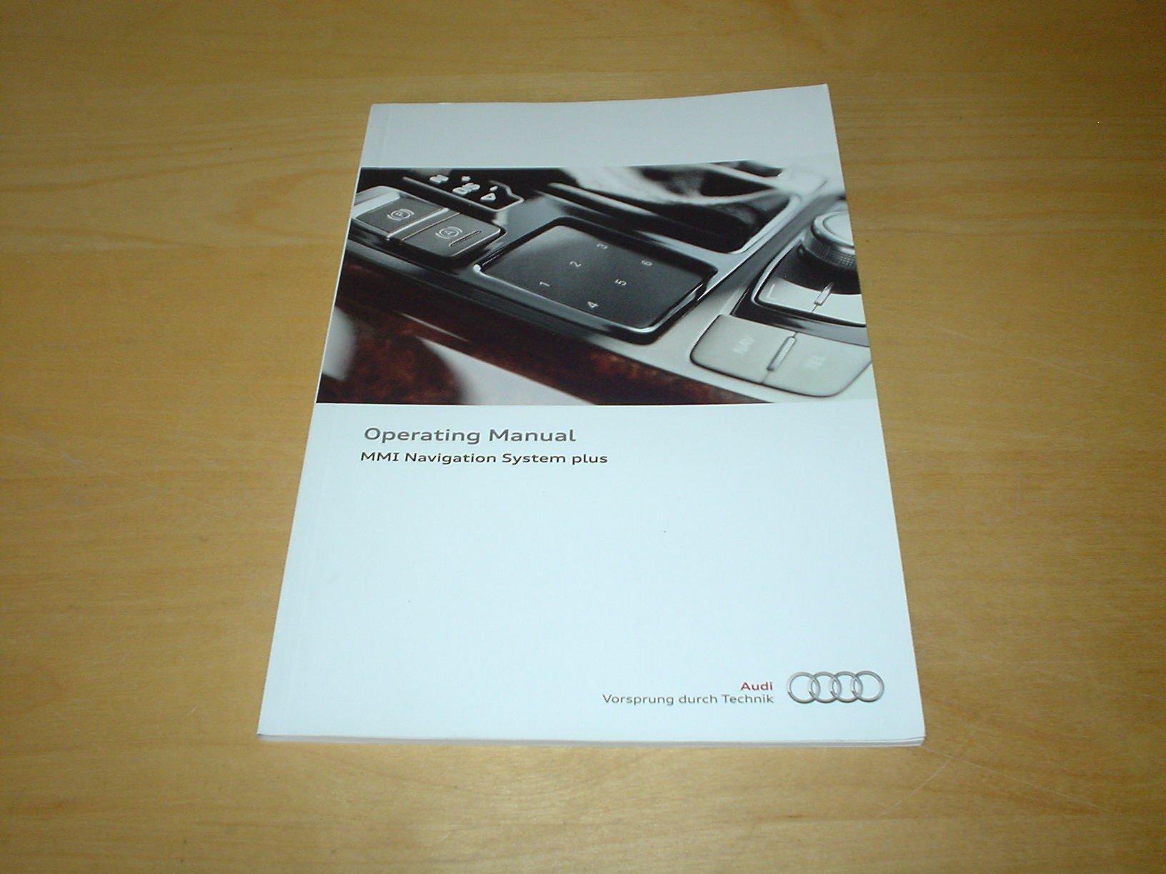2012 audi a8 owners manual pdf