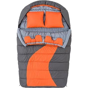Ozark Trail 20 F Grado frío doble momia saco de dormir: Amazon.es: Deportes y aire libre