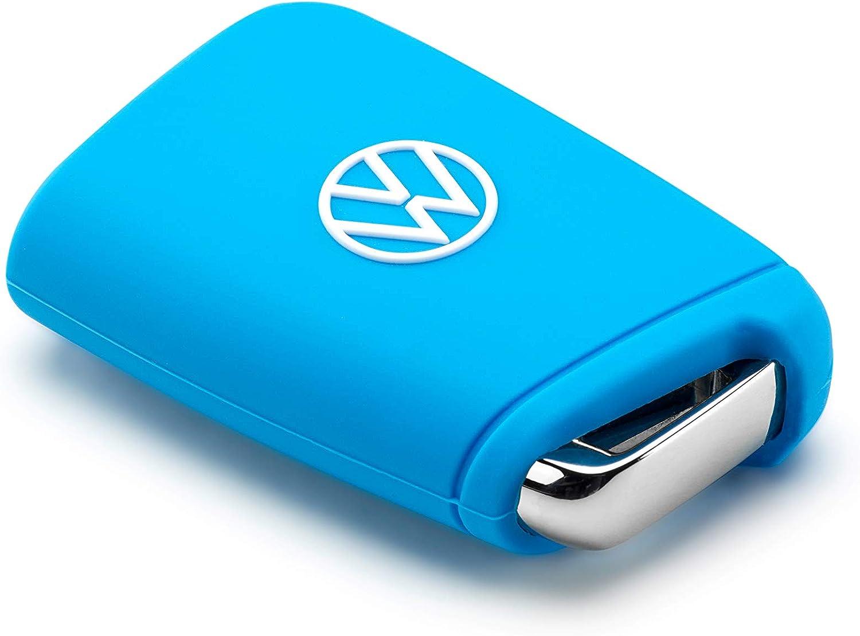 Volkswagen 000087012an3h1 Schlüsselcover Silikon Hellblau New Auto