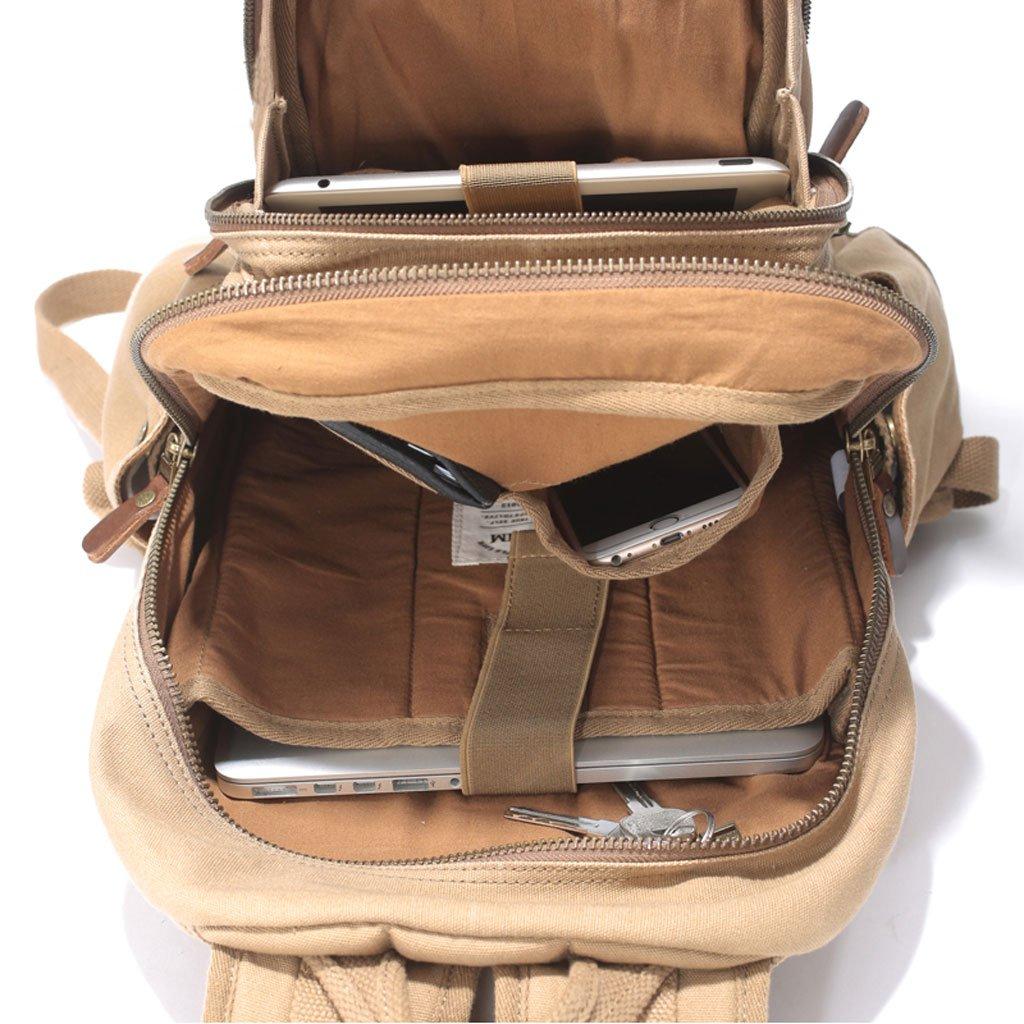 ZOUQILAI Canvas Herren Outdoor-Reisen Freizeit Klettern Rucksack Reisetasche Reisetasche Reisetasche Computer Tasche Herren Tasche B07D1N1VCN   Zuverlässige Qualität    Zart    Neuheit Spielzeug  46ca9e