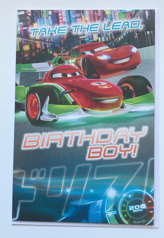 Disney Cars - Tomar la Iniciativa, Birthday Boy. Tarjeta de ...
