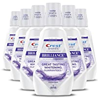 6-Pack Crest 3D White Brilliance Mouthwash Clean Mint 33.7Oz