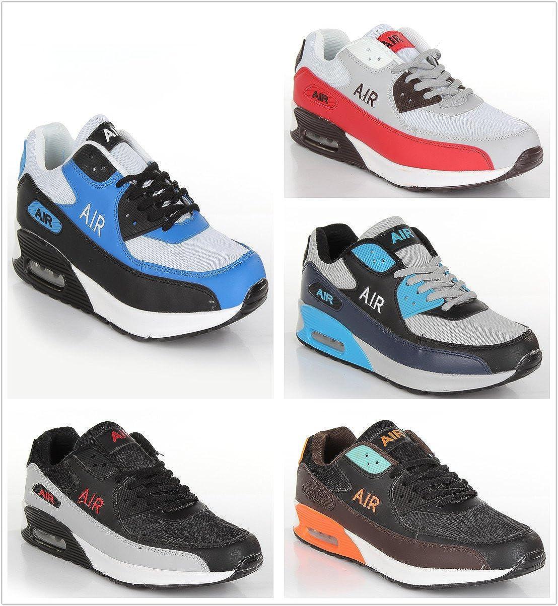 Zapatillas de deporte para hombre, con cámara de aire y absorción ...