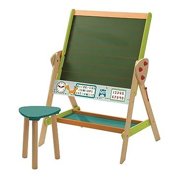 roba Tafel & Kinder-Sitz-Set \'ABC Eule\', Kindertafel wandelbar zu ...