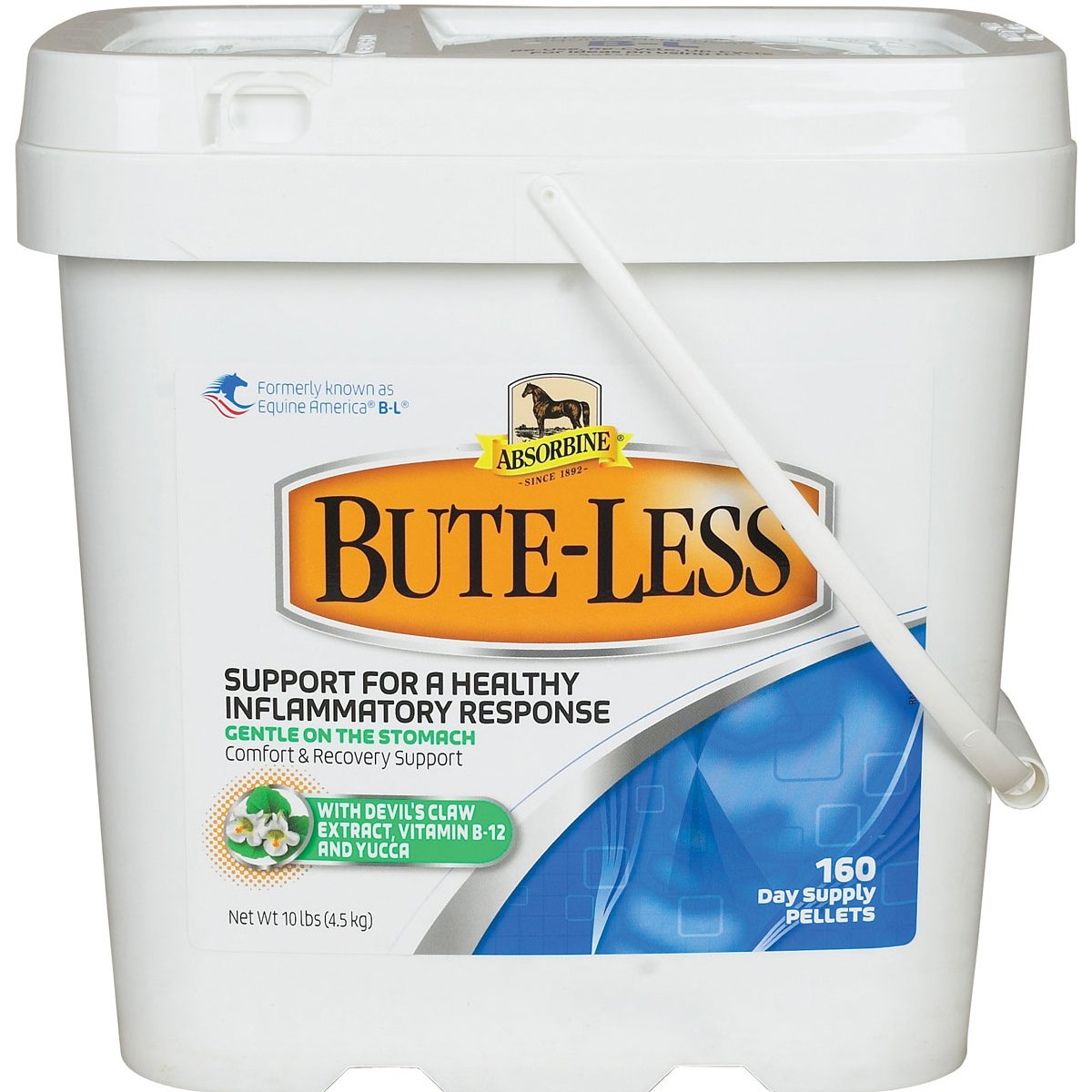Absorbine RM 363180B Bute-Less Comfort & Recovery, White, 10 lb by Absorbine