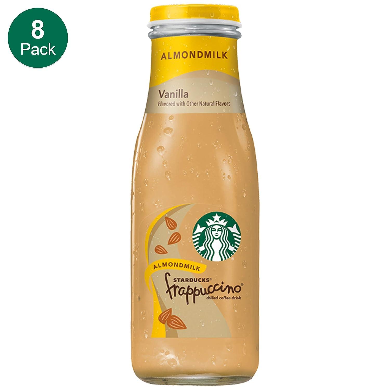 Starbucks Almond Milk Frappuccino Vanilla 13 7 Fl Oz 8 Count