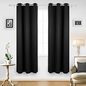 black bedroom curtains does one panel two curtains curtain menzilperde net 10846