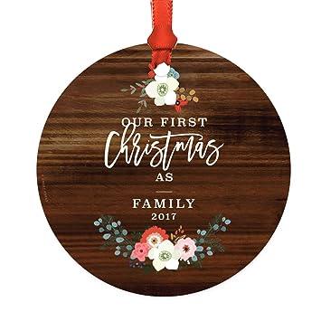 Andaz Press Adoption Family Metal Christmas Ornament, Our First Christmas  as a Family 2019, - Amazon.com: Andaz Press Adoption Family Metal Christmas Ornament
