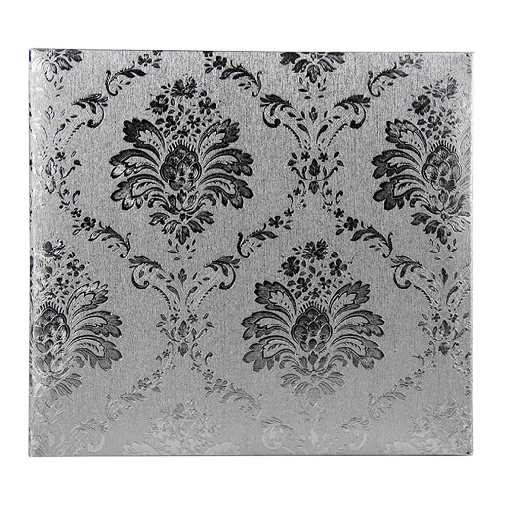LANNA SHOP- Creative Photo Album, PU Wedding Anniversary Memo Album, For 600 Photos With A Size Of 10.2x15.2cm(4R) ( Color : Silver white )