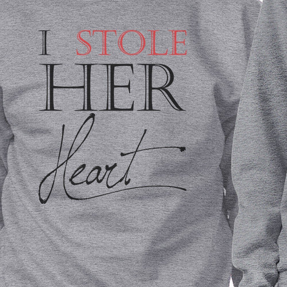 e6c213075 365 Printing Stealing Last Name Crewneck Couples Sweatshirts Cute Honeymoon  Gift at Amazon Women's Clothing store: