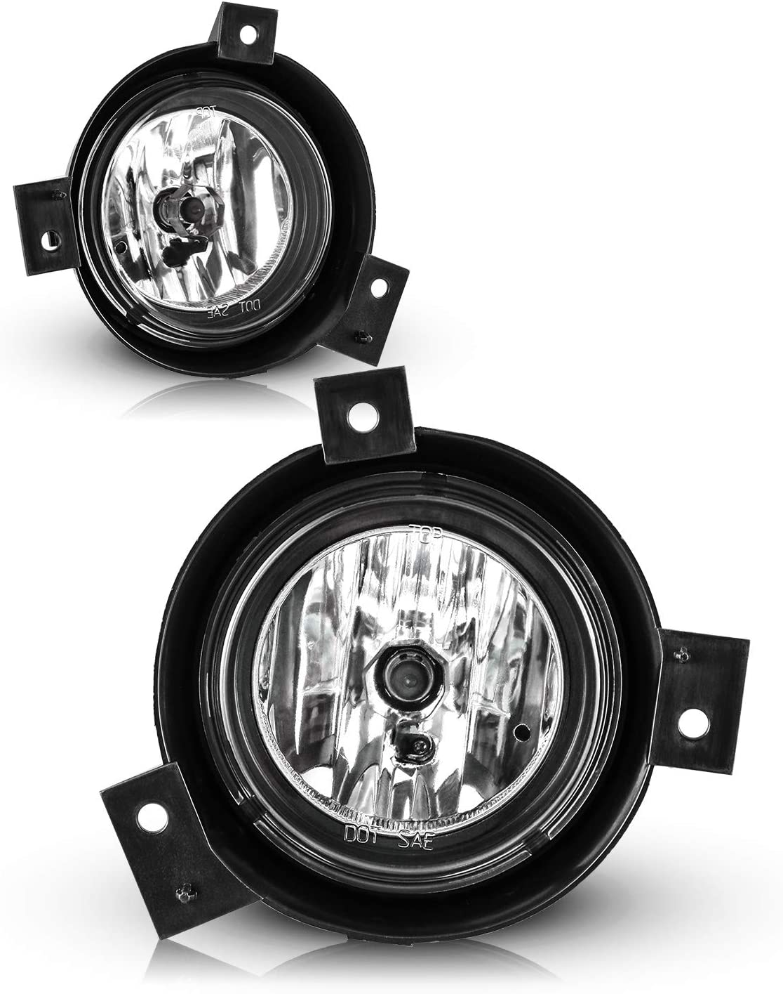 Fog Lights for 2001-2003 FORD Ranger with Bulbs H10 12V 42W AUTOFREE OEM Driving Lamps Replacement-1 Pair Clear Lens