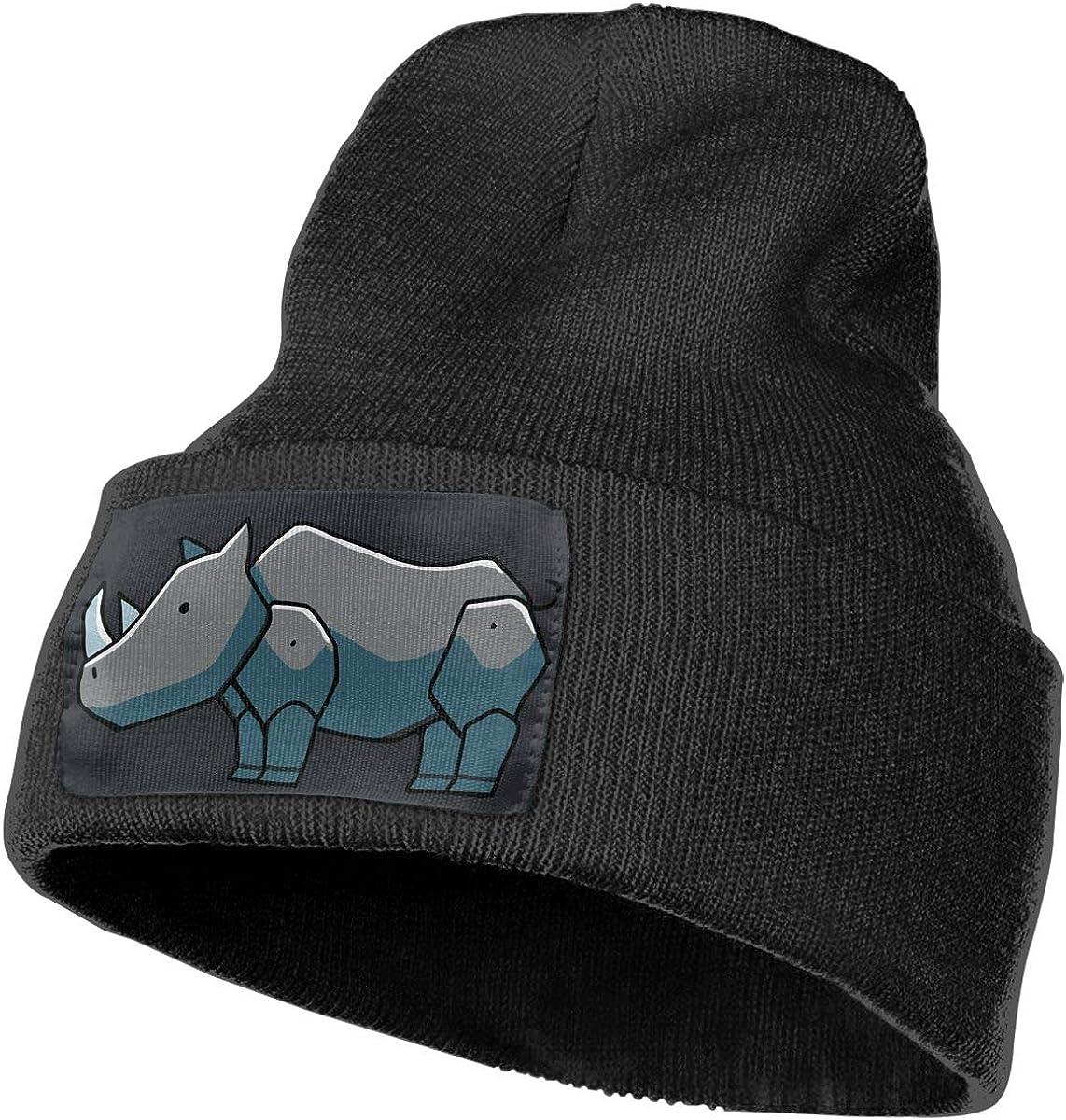Rhinoceros Original Ski Cap Unisex 100/% Acrylic Knitting Hat Cap