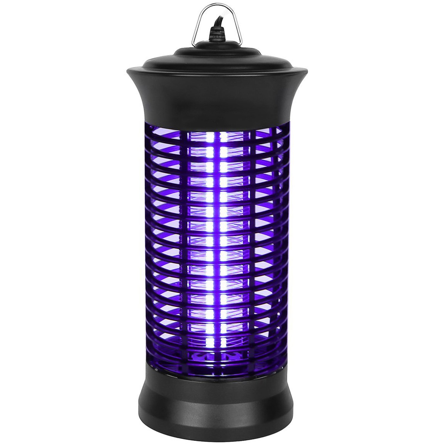 Ihomepark Electric Bug Zapper, Mosquito Insect Killer, Fly Zapper Catcher, UV Pest Trap for Indoor Home Office Patio Backyard Camping & Hiking