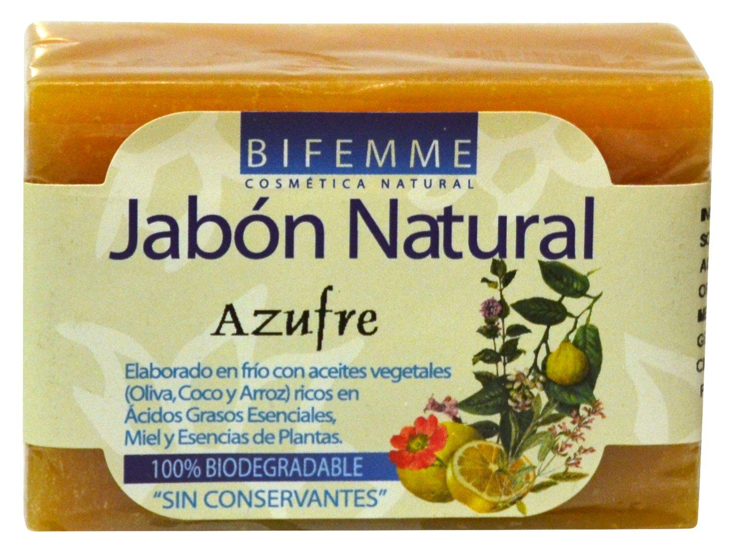 Bifemme Jabón azufre
