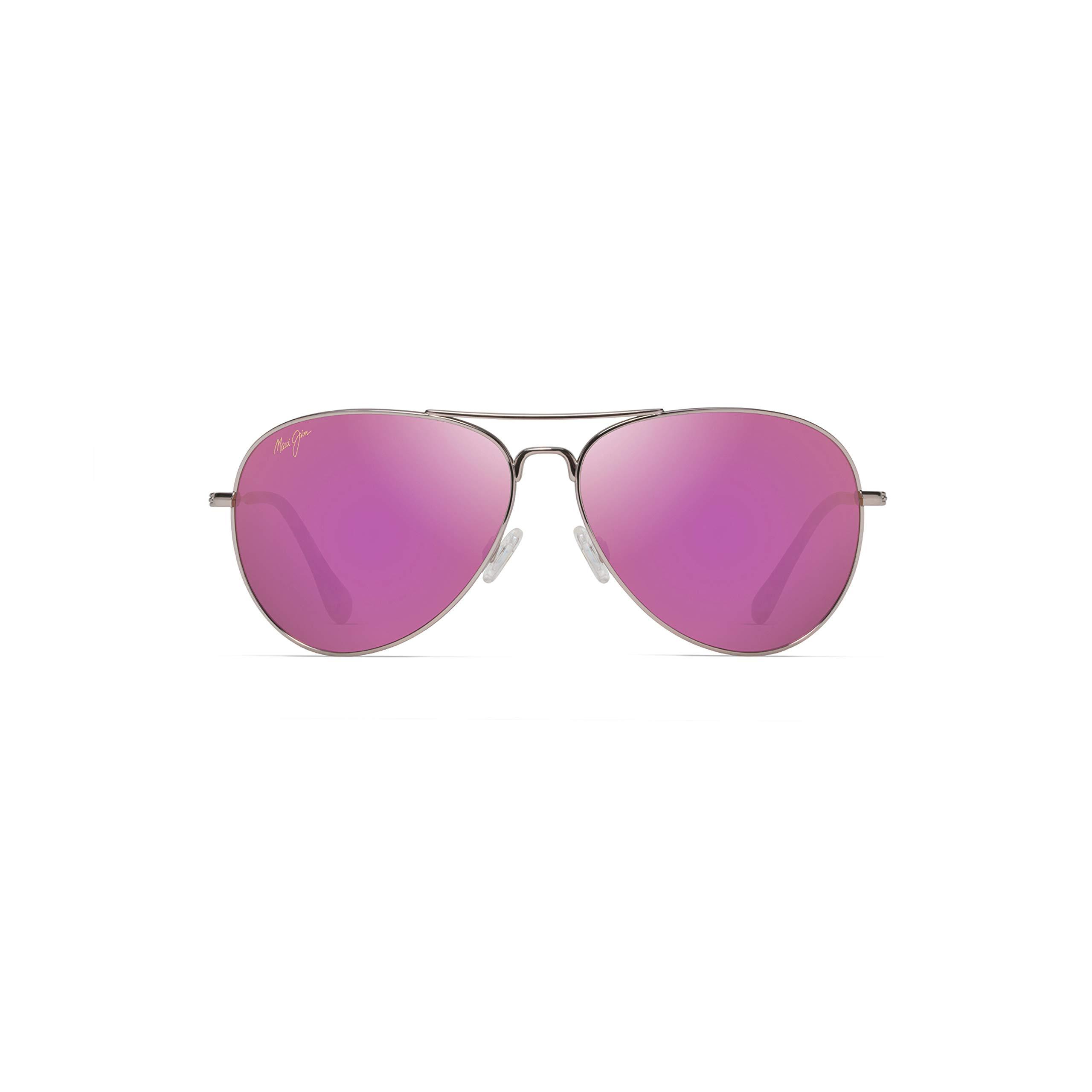 ویکالا · خرید  اصل اورجینال · خرید از آمازون · Maui Jim Sunglasses | Mavericks 264 | Aviator Frame, Polarized Lenses, with Patented PolarizedPlus2 Lens Technology Rose Gold wekala · ویکالا