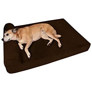 Big Barker 7″ Pillow Top Orthopedic Dog Bed for Large and Extra Large Breeds