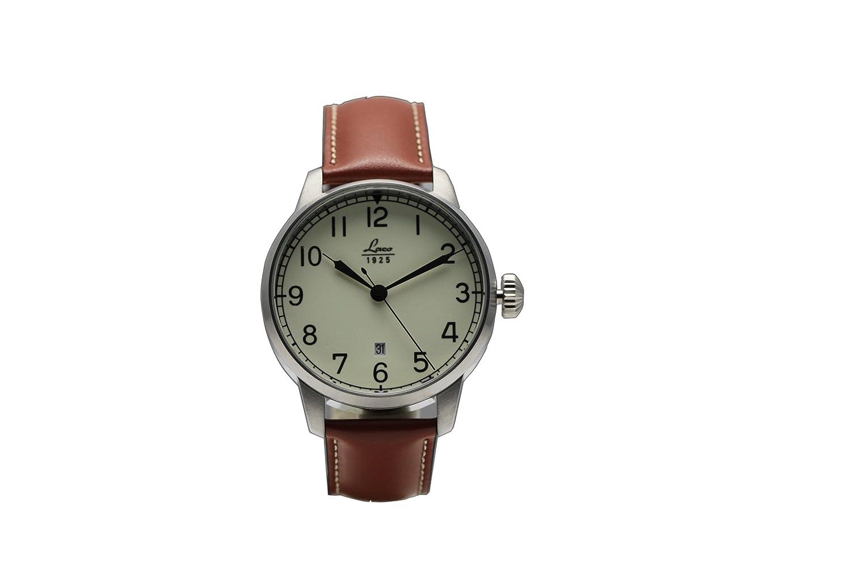 Laco 861651 - Reloj de caballero automático, correa de piel color marrón: Laco: Amazon.es: Relojes