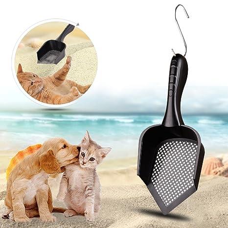 Sue Supply Pala de arena para gatos con punta para gatos, para arena y arena