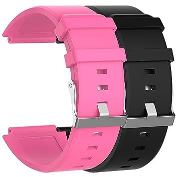 Ruentech Correa de repuesto para reloj inteligente Sony 2 SW ...