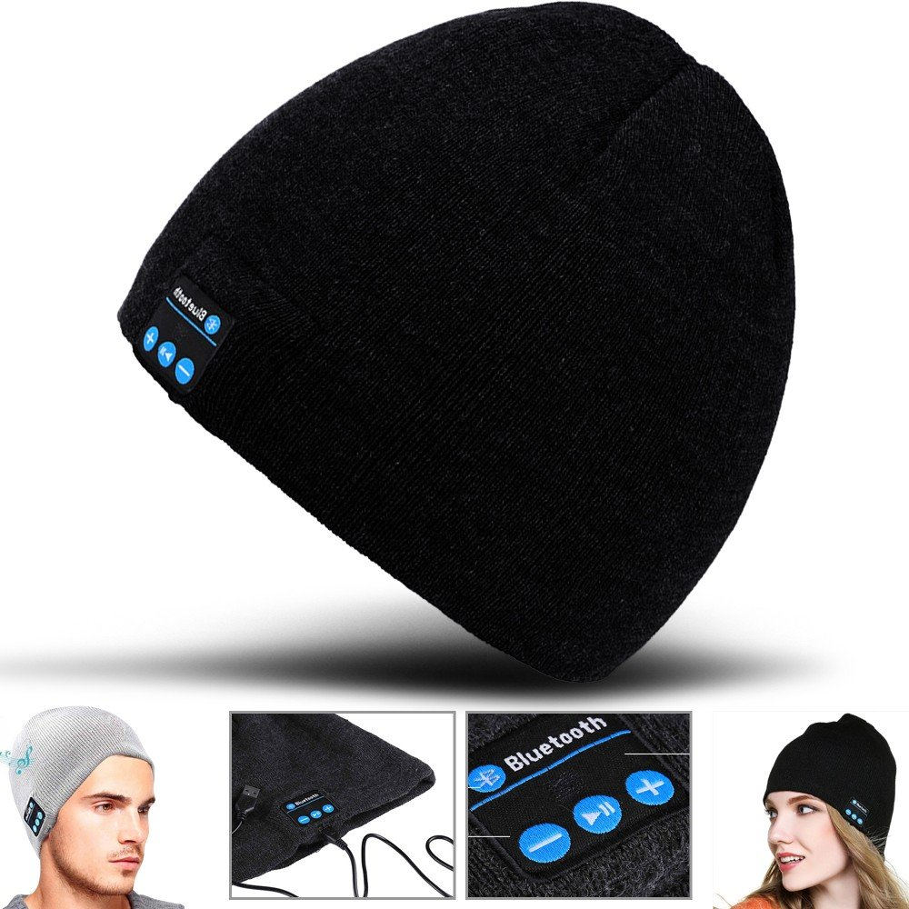 2Ticks Headphone Cuffie Caldo Molle Beanie Senza Fili Bluetooth Di Smart Cap Altoparlante Auricolare...