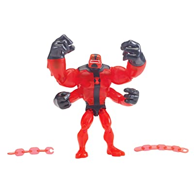"Ben 10 ""Alien Worlds Four Arms Basic Figure, Multi (76159): Toys & Games"