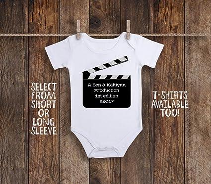Amazon.com: Production Onesie - Body personalizado para bebé ...