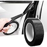 Car Door Edge Protector Carbon Fiber Anti Scratch Car Door Edge Trim Automotive Door Edge Guard Fits for Most Car (1.2In…