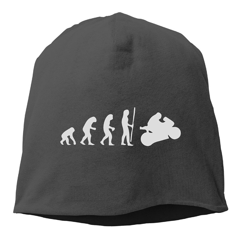Men Women Motorcycle Rider Evolution Racing Supersport Warm Slouchy Baggy Skull Hat Cap Beanie