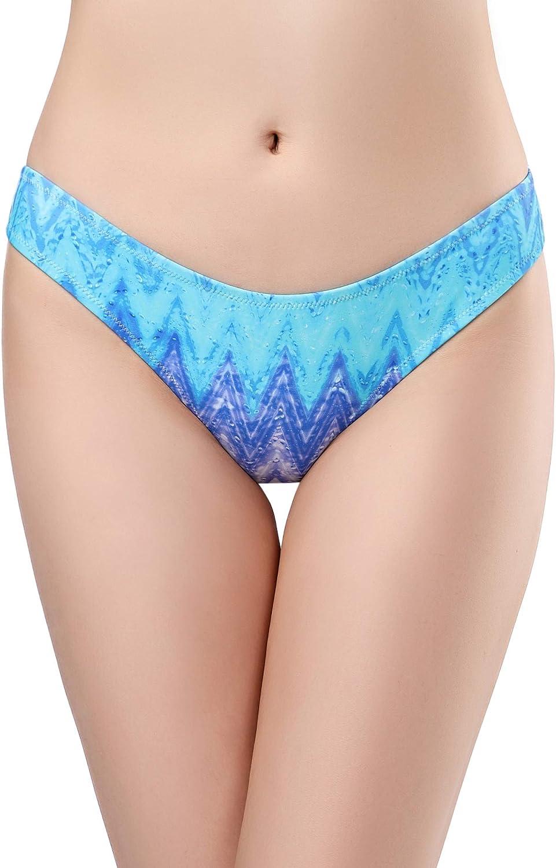 SHEKINI Women's Swimwear Swim Shorts Briefs Cheeky Ruched Hipster Bikini Bottoms