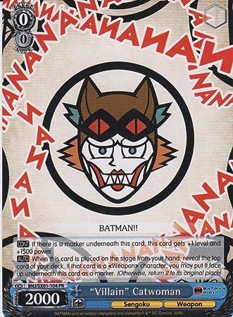 Amazon.com: Weiss Schwarz - Villian Catwomen - BNJ/SX01-104 ...