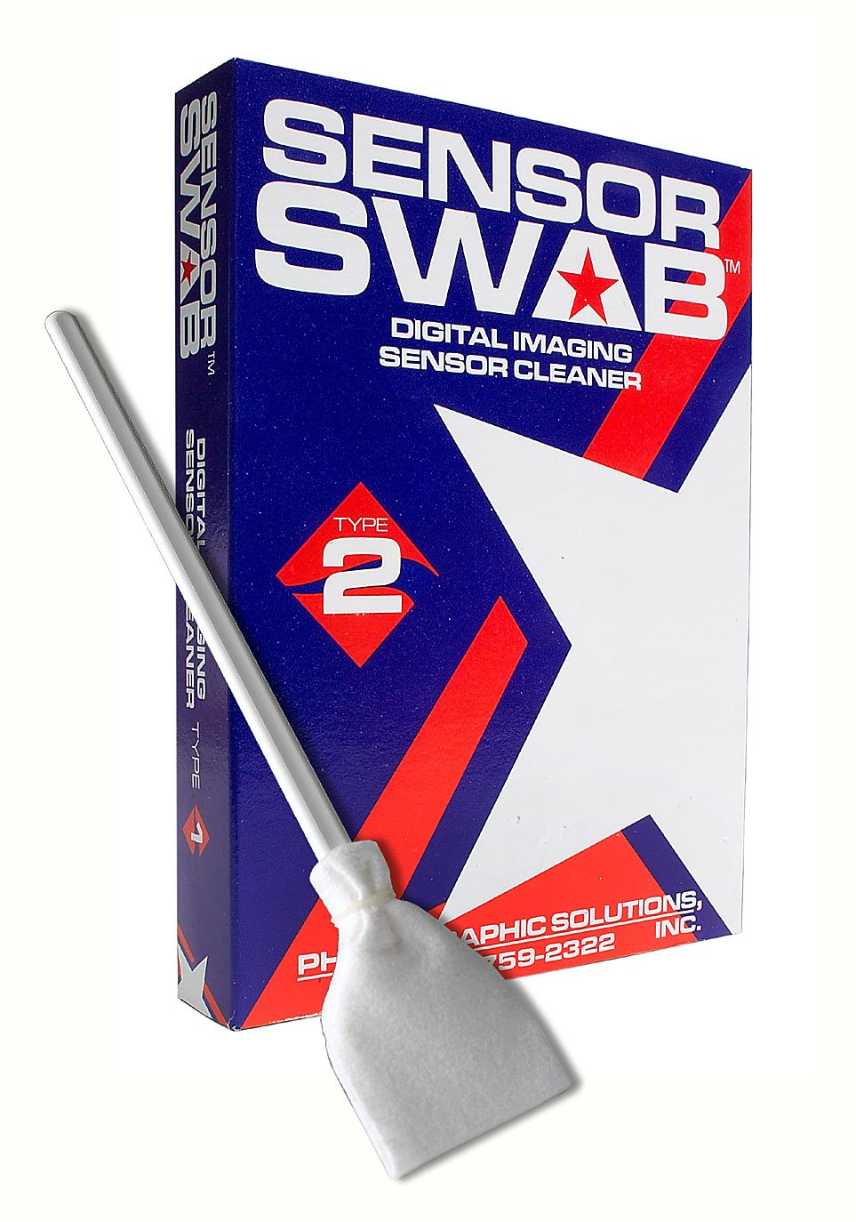 Sensor Swabs Type 2 (Box of 12) by Photographic Solutions