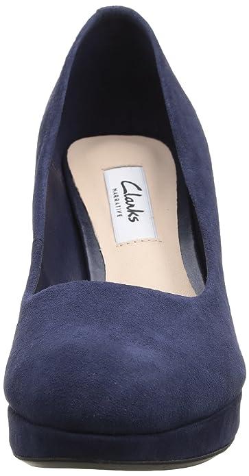 57ec400626690 Clarks Crisp Kendra, Escarpins femme  Amazon.fr  Chaussures et Sacs