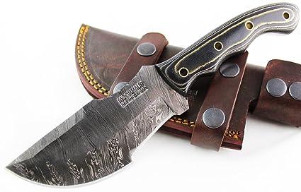 Amazon.com: moorhaus Handmade Random Damasco G10 Verde Oliva ...