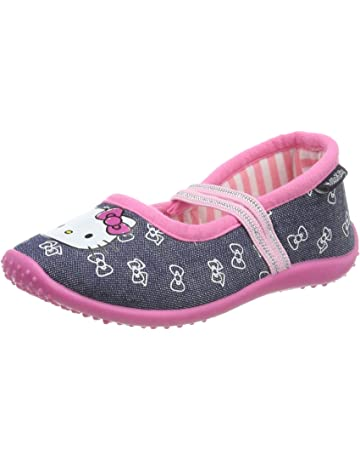 369be9d8597 Hello Kitty Girls Kids Ballerina Houseshoes, Zapatillas de Estar por casa  para Niñas