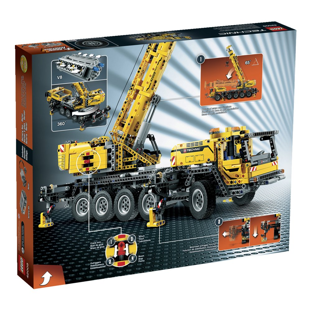 Lego Technic 42009 Mobile Crane Mk Ii Amazon Toys Games