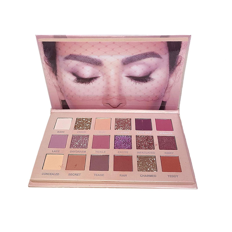 Eyeshadow Palette Professional Smokey Eye Shadows Nudes Highly Pigmented Glitter 18 Colors Eye Long Lasting Waterproof Makeup Kits