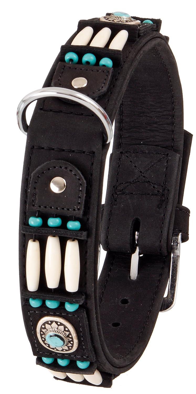 Karlie Flamingo 09665 Buffalo Bull collar, 40 mm 70 cm black   black
