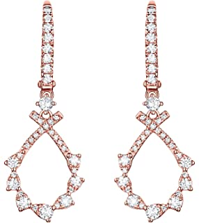 Prism Jewel 0.17Ct G-H//I1 Round Natural Diamond Designer Vine Band