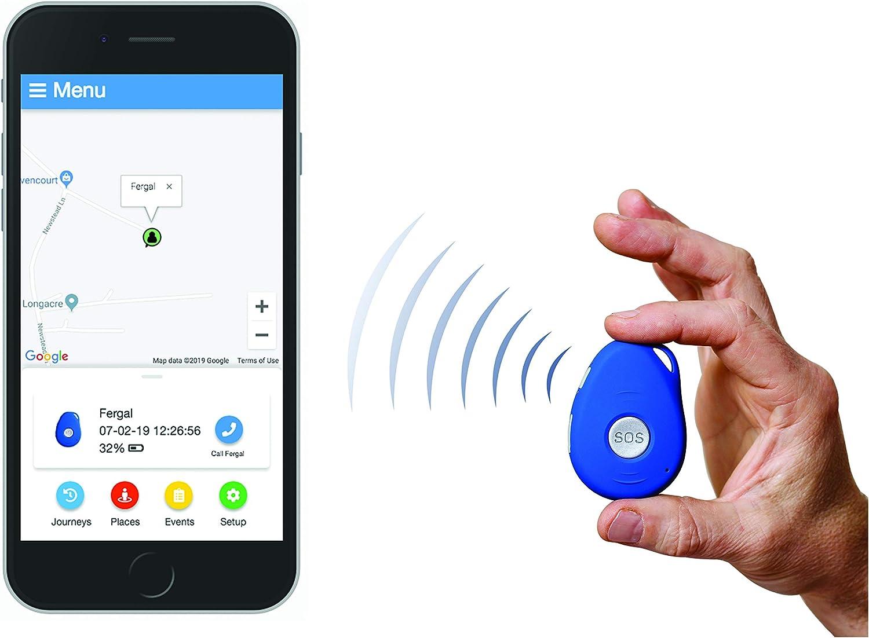 Safer Walking Localizador GPS aplicación, Dementia, Alzheimer, OAP, Ancianos, rastreador