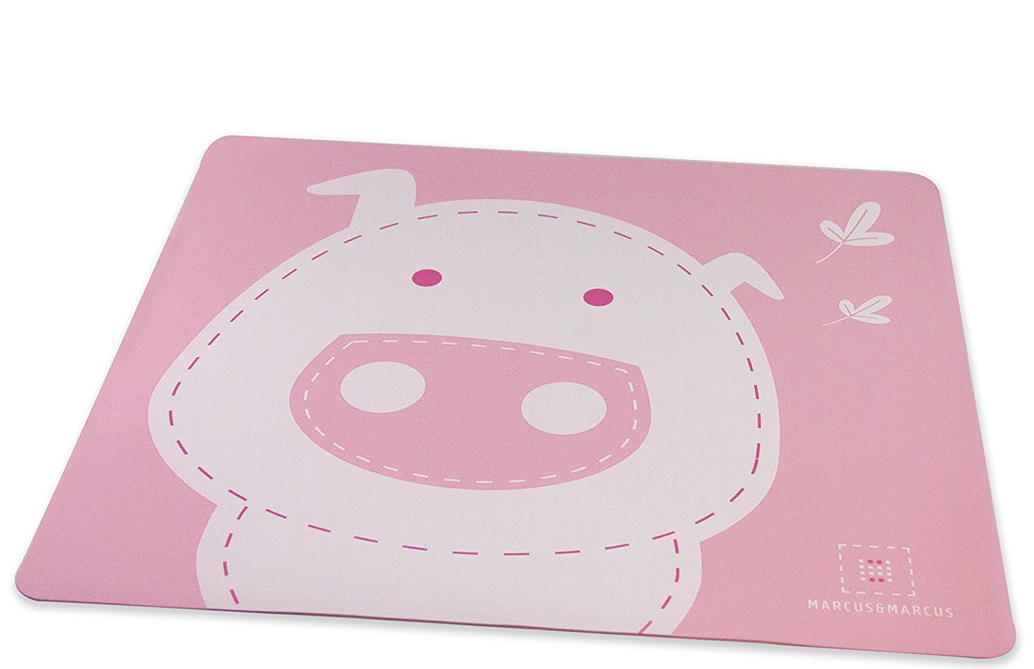 Marcus & Marcus POKEY THE PIG Silicone Placemat - Pink UV Corp 11051