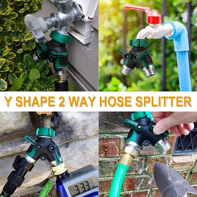 Schlauch Wasserleitung Adapter 6 8 10 Ausgang Aufsatz Ventil Irrigator Nützlich