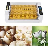 SOULONG Incubadora de Huevos automática 24 Incubadoras