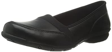 Skechers For Work Women's Slip On Flat,Black,6 ...