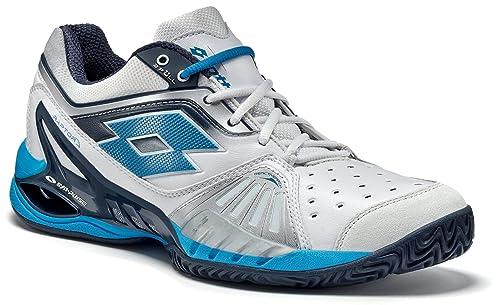 Lotto RAPTOR ULTRA IV CLAY - Zapatillas De Tenis hombre, color blanco, talla 48: Amazon.es: Zapatos y complementos