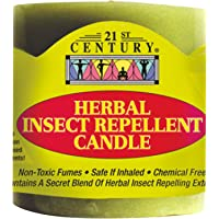 21ST CENTURY Herbal Insect Repellent Candle, 300 grams