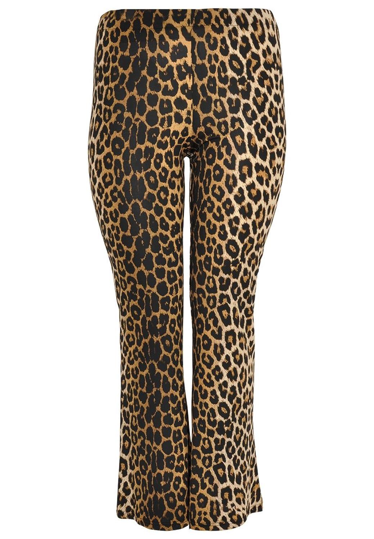 Yoek Damen Hose mit Tierdruck Plus Size