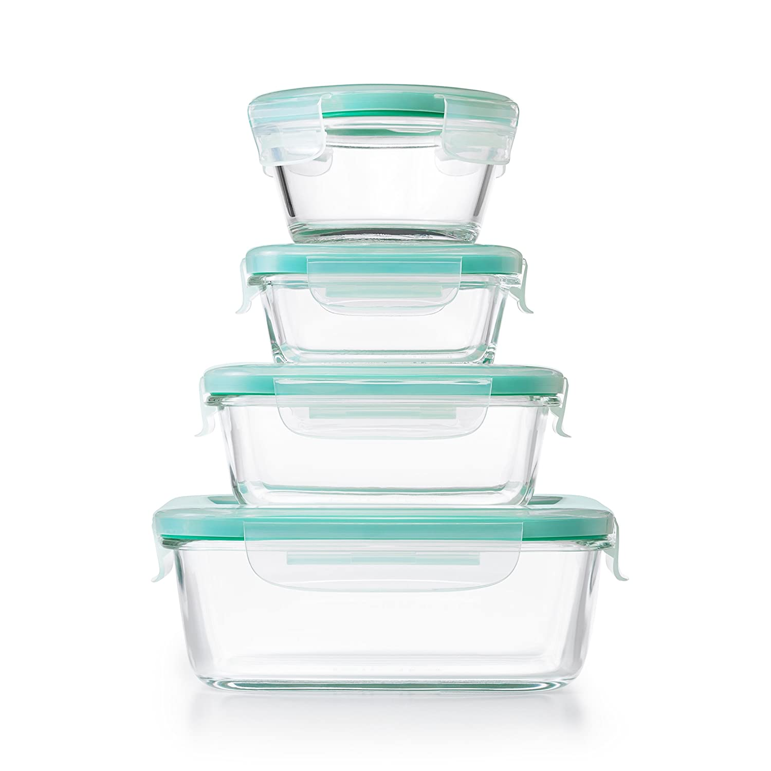 a5cc0b08a8a0 OXO Good Grips Smart Seal Container 12 Piece Glass Container Set