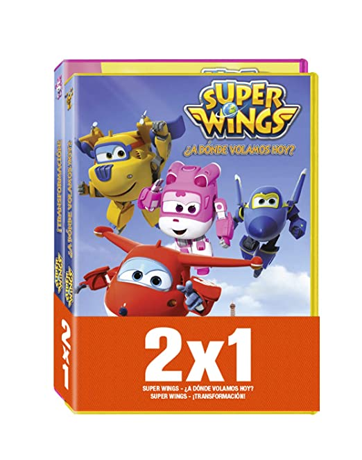Pack - Super Wings: ¿A Donde Volamos Hoy? / ¡Transformacion! DVD: Amazon.es: Benjie Randall: Cine y Series TV
