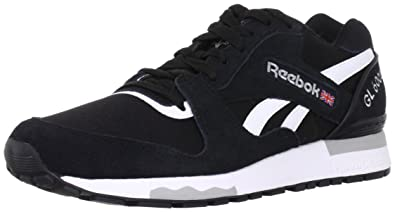 Reebok Gl 6000, Men's Low Top Sneakers, Black (blackwhite