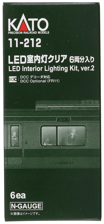 6 Kato 11-212 N Passenger Car Light Kit White LED